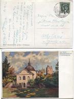 Tschechoslowakei Bahnpost #151 'a' Hanusovice-Hradec Kralove, Karte 30.7.37 - Cartas