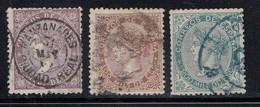Spain - 1868 - 50m-200m - Yv. 98-100 - Used - Gebraucht
