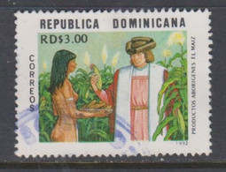 REPUBLICA DOMINICANA, USED STAMP, OBLITERÉ, SELLO USADO. - República Dominicana