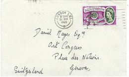 233 - 69 - Enveloppe Envoyée De London 1960 - Covers & Documents
