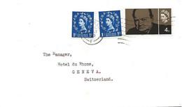 233 - 70 - Enveloppe Envoyée à Genève 1965 - Covers & Documents