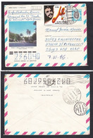 Cuba.Che Guevara . Letter From Cuba To The USSR. Stamped Stationery.(10) - Cartas