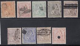 Spain - 1873 - 2c- 10p - Yv. 130-138 - Used - Usados