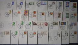 France 44 -  Marcophilie Lot De 315 Env. Carte Oblitérations Différentes Avec Bureaux Temporaires Illustrés De 1977-2010 - Cachets Commémoratifs