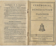 59 DOUAI LIVRET CEREMONIAL BENEDICTION DES CLOCHES FONDERIES WAUTHY  ABBE E DUBOIS - Picardie - Nord-Pas-de-Calais