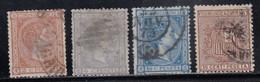 Spain - 1875 - 2c-10c - Yv. 151,153-55 - Used - Usados
