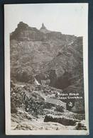 """Spanien 1932, Postkarte MiF LAS PALMAS """"Roque Nublo GRAN CANARIA"""" Gelaufen Wien - 1931-...."""
