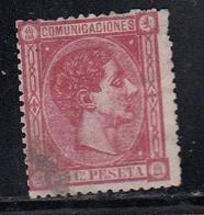 Spain - 1875 - 25c - Yv. 157 - Used - Usados