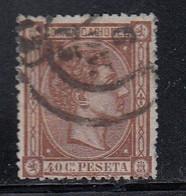 Spain - 1875 - 40c - Yv. 158 - Used - Usados