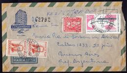 Brasil - 1967 - Lettre - Via Aerea - Envoyé En Argentina - A1RR2 - Cartas