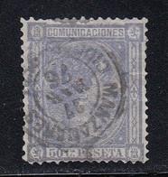 Spain - 1875 - 50c - Yv. 159 - Used - Usados
