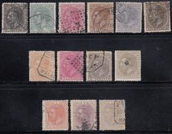 Spain - 1879 - 2c-10p- Yv. 183-195 - Used - Usados