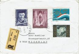 Österreich / Austria - Einschreiben / Registered Letter (K1590) - 1971-80 Cartas