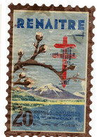 Grand Timbre RENAITRE CONTRE LA TUBERCULOSE  , 20FR , TAILLE 8 X 12 - Antituberculeux