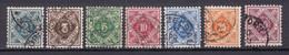 Wuerttemberg - 1906/16 - Dienstmarken - Michel Nr. 112/118 - Gestempelt - 50 Euro - Wurtemberg