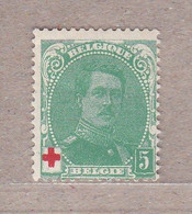 1914 Nr 129a* Met Scharnier.Type II.Rode Kruis - 1914-1915 Red Cross