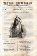 B 3902 - Teatro Universale 1844 - Non Classificati
