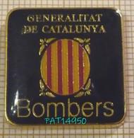 BOMBERS GENERALITAT DE CATALUNYA POMPIERS De CATALOGNE ESPAGNE - Firemen