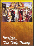 Tonga / Niuafo'ou 2015 Art Paintings Easter S/S MNH - Tonga (1970-...)