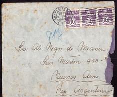 Danmark - 1940 - Lettre - Envoyé En Argentina - Censuré Par L'occupation Allemande - A1RR2 - Briefe U. Dokumente