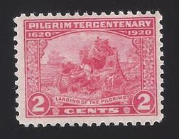US #549 1920 Carmine Rose Perf 11 Unwmk MNH F-VF SCV $12.50 - Unused Stamps