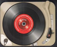 SCHWEIZ  Block 56, Postfrisch **, Schallplatte, 2014 - Blocks & Sheetlets & Panes