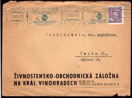 Tchécoslovaquie - 1935 - Lettre - Cachet Spécial - A1RR2 - Cartas