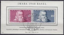 SCHWEIZ  Block 13, Gestempelt, IMABA, 1948 - Blocks & Sheetlets & Panes