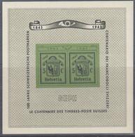SCHWEIZ  Block 10, Postfrisch **, GEPH, 1943 - Blocks & Sheetlets & Panes