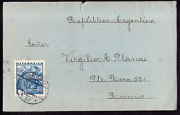 Österreich - 1936 - Fragment Brief - Argentinien - A1RR2 - Cartas