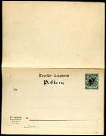 TOGO P3 Antwort-Postkarte  1898  Kat. 40,00 € - Colonia: Togo