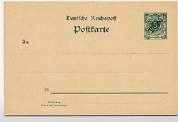 TOGO P5 Postkarte 1899  Kat. 95,00 € - Colonia: Togo