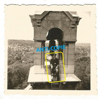 WW2 PHOTO ORIGINALE Soldat Allemand Orphelinat Saint Philippe à MEUDON P. Clamart Boulogne Billancourt HAUTS DE SEINE 92 - 1939-45