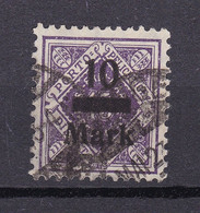 Wuerttemberg - 1922/23 - Dienstmarken - Michel Nr. 160 - Geprüft - Gestempelt - Wurtemberg
