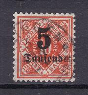 Wuerttemberg - 1923 - Dienstmarken - Michel Nr. 173 - Geprüft - Gestempelt - Wurtemberg