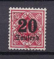 Wuerttemberg - 1923 - Dienstmarken - Michel Nr. 174 - Geprüft - Gestempelt - Wurtemberg