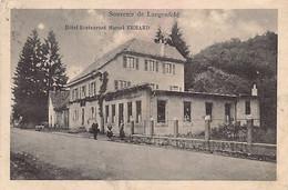 Souvenir De Langenfeld Hôtel-Restaurant Marcel ERHARD Ed. A.Kanitzer - Otros Municipios