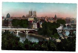 Paris - Panorama De La Cité - Le Pont Neuf Et Notre Dame - Notre Dame Von Paris
