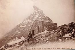 Cartolina - Cabane Du Cervin Et Le Mont Cervin - 1920 Ca. - Non Classificati