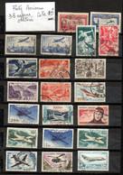 France--Poste Aérienne--Lot De 38 Timbres Oblitérés--cote 123€--.....(classés Dans L'ordre Des N° ).............à Saisir - Andere