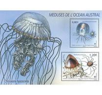 TAAF 2021 / Y&T N° ... ** :MI....**, Y&T N° ... Bloc 2 Timbres TAAF - Méduses De L'Océan Austral - Neufs