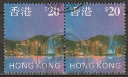 Hong Kong 1997 Sc 777  Pair Used - Usados