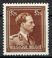 Leopold III - 1936-1957 Col Ouvert