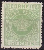 Cabo Verde - 1877 - Y&T  6B * (no Gum) - Cape Verde