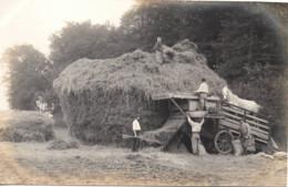 Agriculture C.1900 Battage Avec Cheval Photo C.9x14cm Machine Agricole Batteuse ATELIERS DE MONTIERES AMIENS - Profesiones
