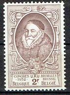 Congrès De L'U.P.U. à Bruxelles : Léonard Ier Baron De Tassis - Unused Stamps
