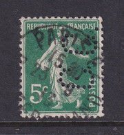 Perforé/perfin/lochung France No 137 C.C. Continental Sa De Caoutchouc Manufacture - Perforés