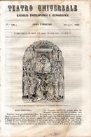 B 3904 - Teatro Universale 1844 - Non Classificati