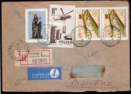 Polska - 1975 - Lettre - Par Avion - Envoyé En Argentina - A1RR2 - Briefe U. Dokumente