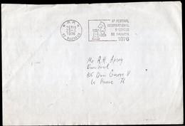 France - 1976 - Fragment - Carte - Entier Postale - Cachet Spécial - Tournois - Thème Des échecs - Chess - A1RR2 - Scacchi